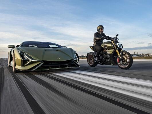 Ducati y Lamborghini unen fuerzas para lanzar esta increíble motocicleta de colección