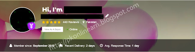 fiverr pakistan level 2 seller
