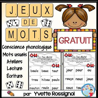 https://www.teacherspayteachers.com/Product/JEUX-DE-MOTS-pour-son-complexe-GRATUIT-Free-French-Phonics-Activities-4697758