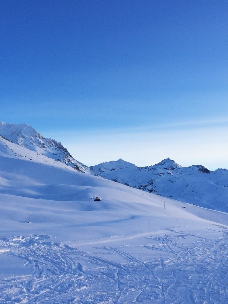 Skiing at Val Thorens - ski holiday in the French Alps - travel blog