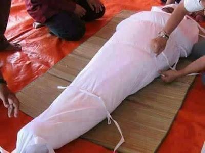 Isiaka Adeleke dead body