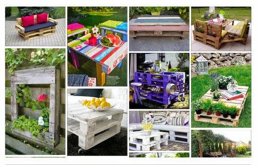 Κατασκευές από Παλέτες για Κήπο-Μπαλκόνι