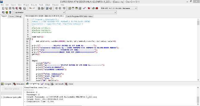 "<img src=""https://1.bp.blogspot.com/-in8XZxCWQfY/X_Ue5RtzgVI/AAAAAAAAAMc/9FCnFhMLIac254VHTt1uoCaaeTjzRJuUACLcBGAsYHQ/s16000/contoh-program-simulasi-atm-sederhana.png"" alt=""Contoh Program Simulasi ATM Sederhana dengan Bahasa C""/>"