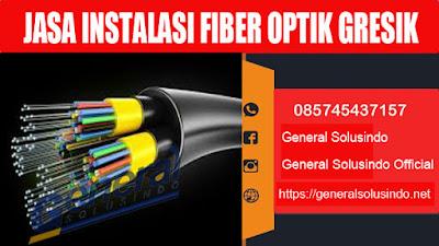 jasa instalasi serat kabel fiber optik gresik murah