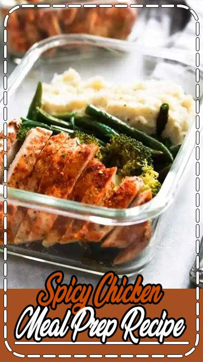 May this new week be great for all of us. And if this week your goal is to eat better or healthier, I hope this easy spicy chicken meal-prep recipe helps you to achieve it 👊😘😋 . These whole30, paleo-friendly, gluten-free, and low-carb Spicy Chicken Meal-Prep Bowls packed with spicy chicken, roasted green beans, broccoli, and mashed cauliflower. . . . #mealprepmonday #mealprepsunday #healthyeatingideas #healthyrecipeshare #mealpreponfleek #mealprepmondays