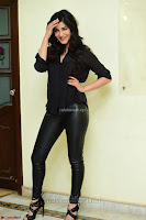 Shruti Haasan Looks Stunning trendy cool in Black relaxed Shirt and Tight Leather Pants ~ .com Exclusive Pics 083.jpg