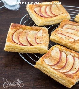 مورقات التفاح سهل ولذيذ