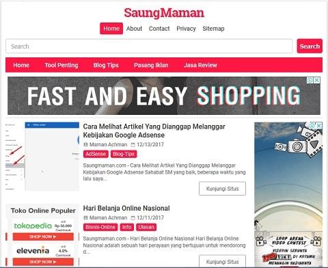 Blog Saung Maman Achman