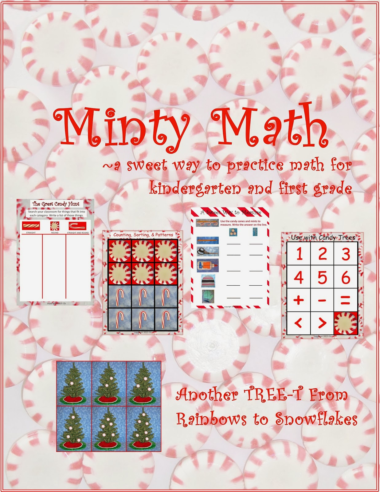 Rainbows To Snowflakes A Creative Life Minty Math For