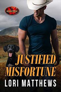 Justified Misfortune: Brotherhood Protectors World Romance by Lori Matthews book promotion