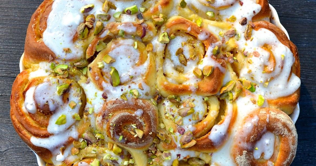 Limonenschnecken mit Pistazien