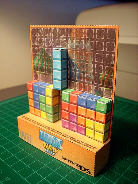 Tetris | Paper Foldables™ Blog