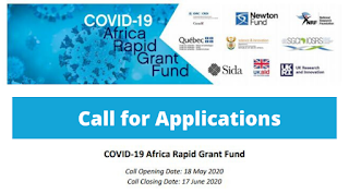 NRF COVID-19 Africa Rapid Grant Fund 2020 | National Research Foundation