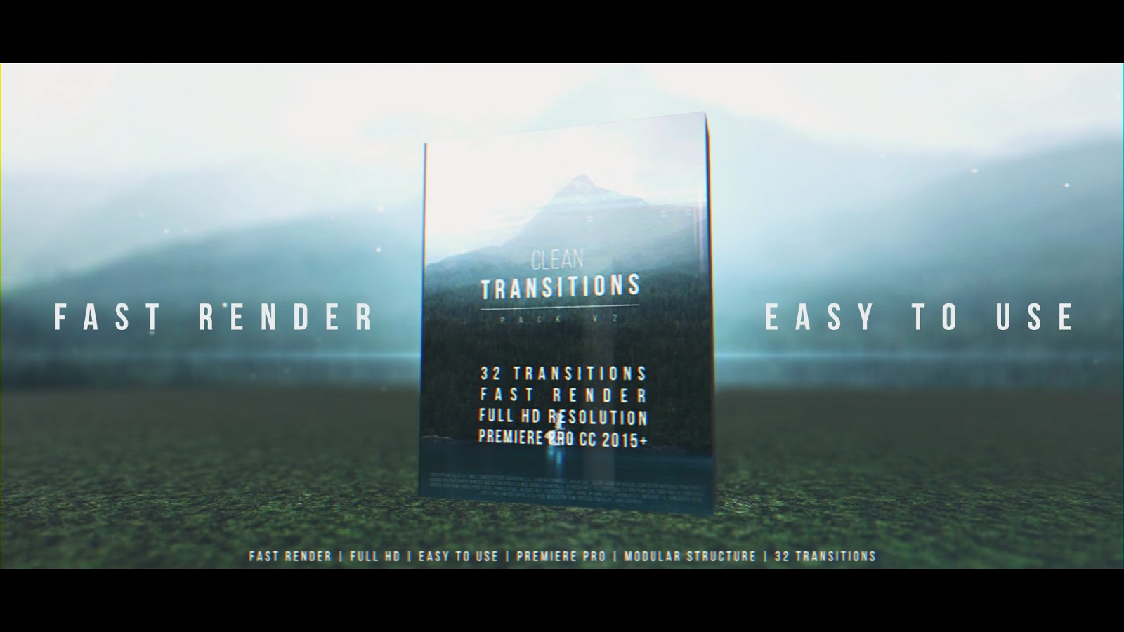 Clean Transitions Pack v2 - Premiere Pro Templates | Motionarray