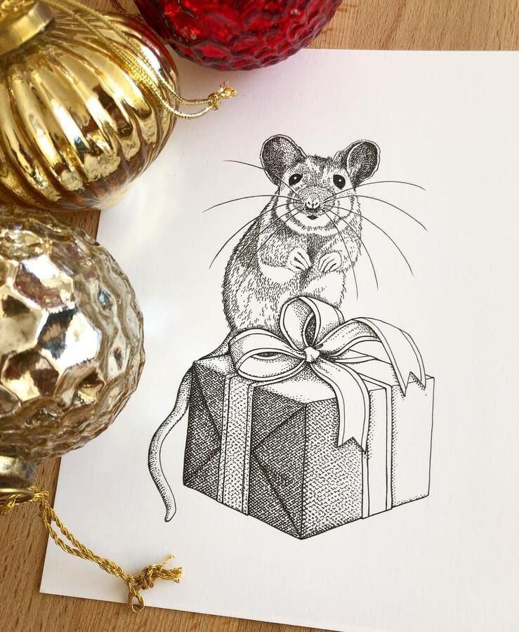 08-The-mouse-present-Diane-Swartzberg-www-designstack-co
