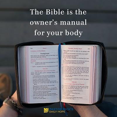 God's Prescription for Good Health by Rick Warren