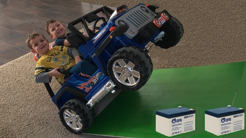 Make Power Wheels Faster With Aftermarket Batteries