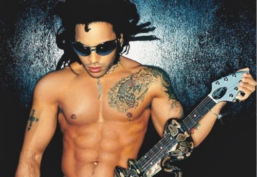 Lenny Kravitz, Lenny Kravitz Shirtless