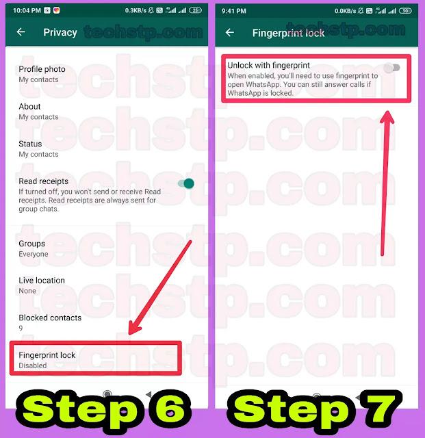 whatsapp-par-fingerprint-lock-kaise-lagayen