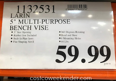 Deal for the Larin 5in Multi-function Vise at Costco