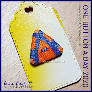 One Button a Day 2020 by Gina Barrett - Day 162: Federation