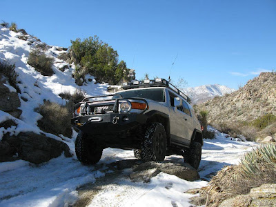 FJ Cruiser Off Road Normal Resolution HD Wallpaper 2