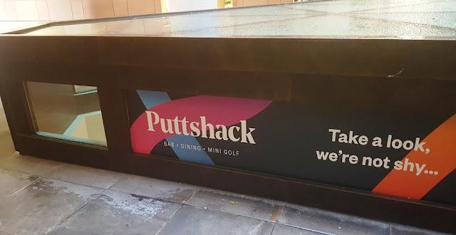 Puttshack Super Tech Mini Golf in Bank, London