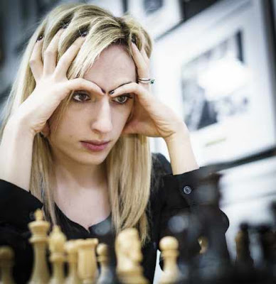 Nazi Paikidze seconde du National féminin US d'échecs avec 7 points sur 11 - Photo © site officiel