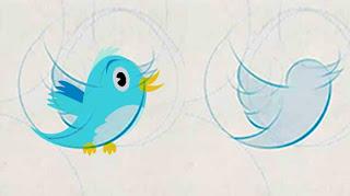 """(CNNMéxico) — El popular pájaro que representa a Twitter ha perdido algunas plumas y el copete en su nueva imagen con la que la red social pretende crear una identidad única para su marca, informó este miércoles el director creativo de Twitter, Doug Bowman. El diseño del ave asociada con la red social perdió una pluma y ahora cuenta sólo con tres, además de que se quedó sin el copete que lo caracterizaba. También su vuelo está un poco más inclinado hacia arriba, en representación de """"libertad, esperanza y posibilidades ilimitadas"""". Las otras representaciones, como la t minúscula que solía"""