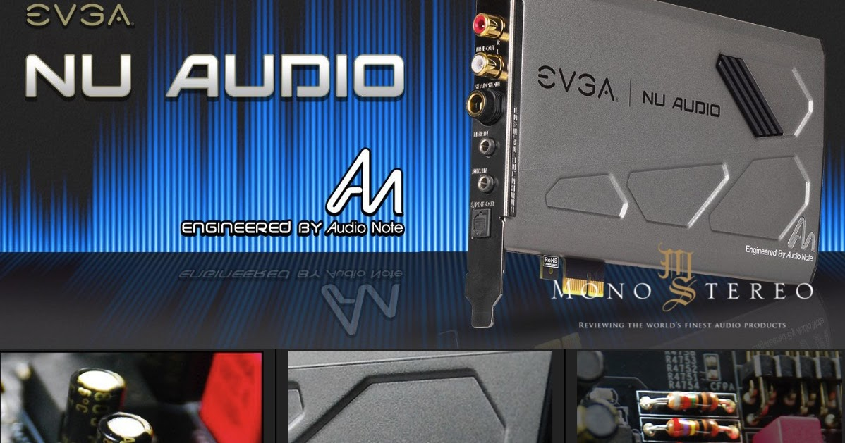 Mono and Stereo High-End Audio Magazine: EVGA NU Audio Card