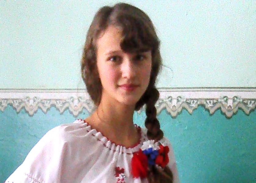 Інна Буряк, студентка факультету журналістики ЛНУ імені Івана Франка