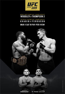 Review of UFC 209 pay-per-view Woodley vs Thompson