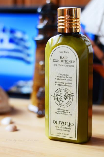 Olivolio odżywka do włosów suchych i zniszczonych