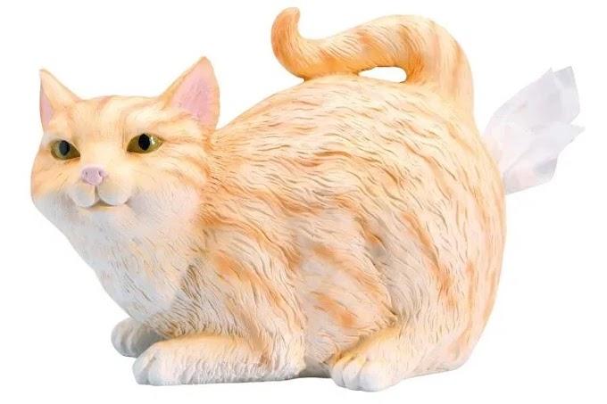 Regalos navideños que necesitas: Dispensador de pañuelo culo de gato