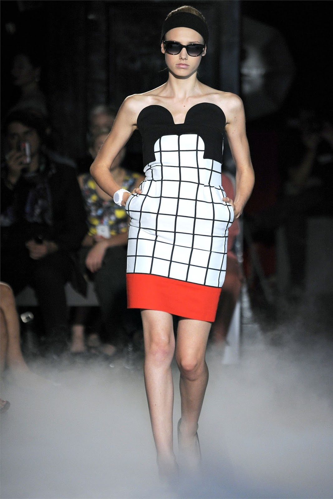 171cae43abc6 While surfing on internet this afternoon I found these inspiring photos  from fashion designer Jean-Charles de Castelbajac for the season S S 2012  RTW.