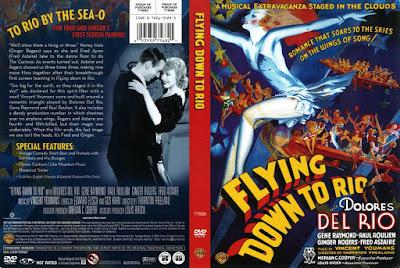 Carátula de la película - Volando a Río de Janeiro