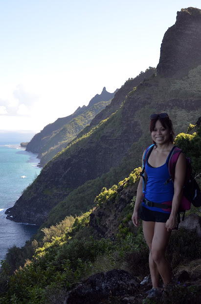 Jes' Crossfit Hiking Na Pali Coast Kalalau Trail