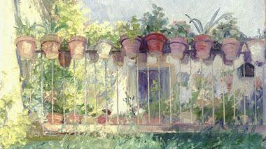 Javier de Winthuysen. Pintor y jardinero sevillano