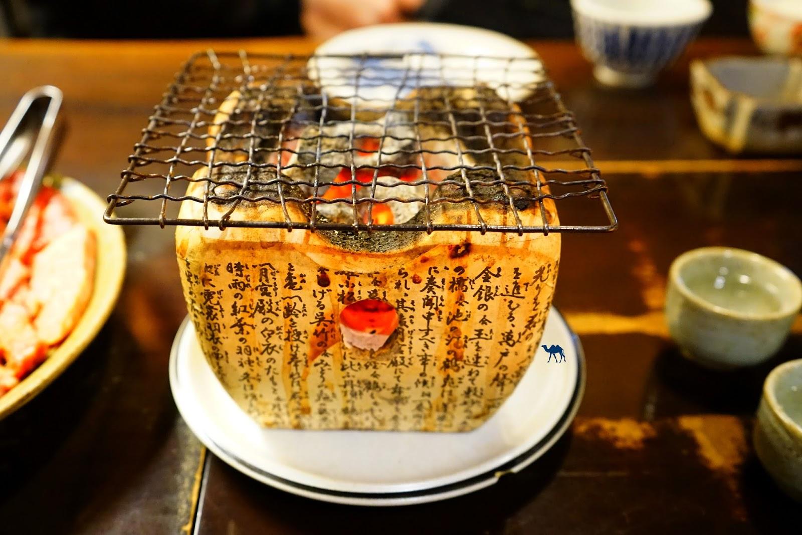 Barbecue de table Schichirin Takayama  - Le Chameau Bleu