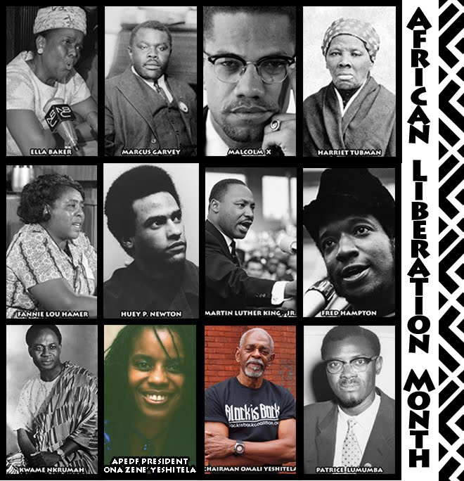 Thank you for joining us in celebrating African Liberation Month this past February!