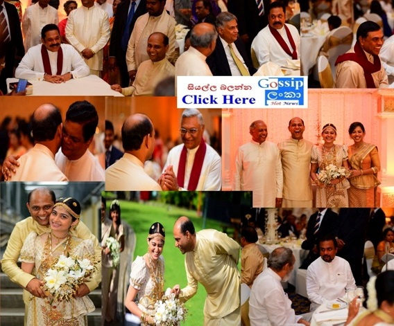 Samanmalee and Dinesh Gunawardena's Son Wedding