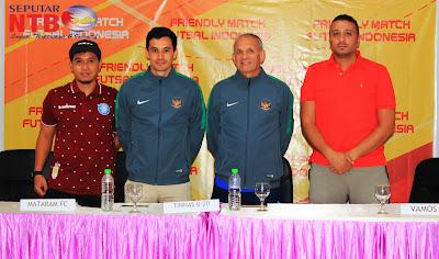 Timnas U20 uji coba melawan Mataram fc dan Vamos Mataram