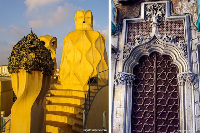 Barcelona: La Pedrera, de Gaudí, e uma fachada modernista no Bairro Gótico