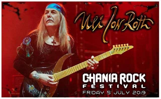 ULI JON ROTH και TARJA στο Chania Rock Festival
