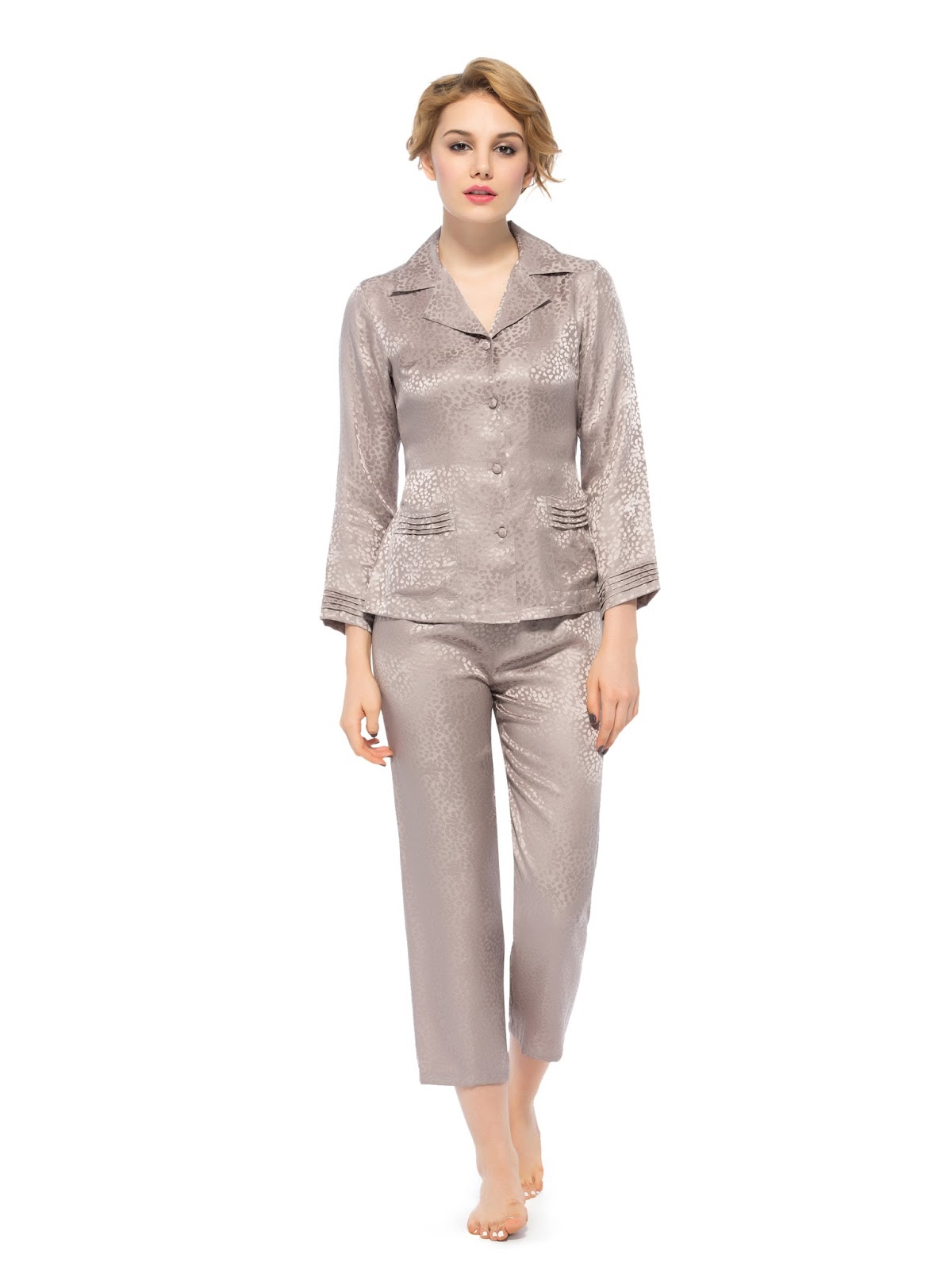women sleepwear, women pajamas, silk pajamas