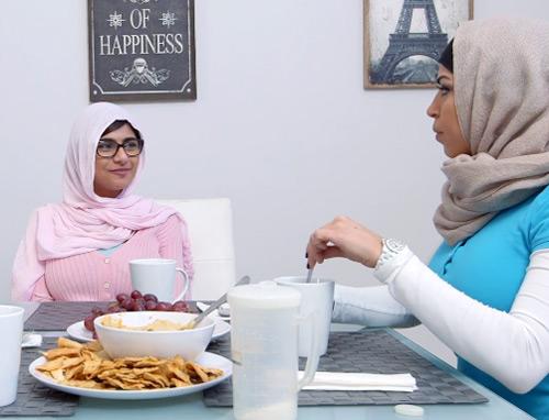 hijab wanita palestina