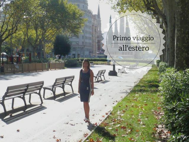 Ricordi di viaggio: il mio primo viaggio all'estero