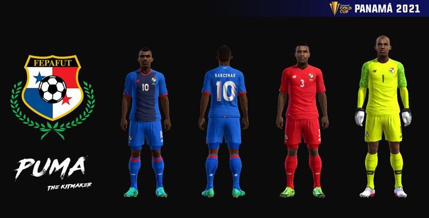 Panama 2021 Kits For PES 2013