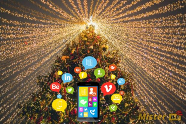 mobile apps on Christmas Eve