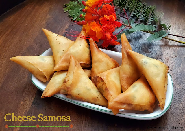 images of Cheese Samosa / Jalapeno Cheese Samosa / Easy Cheese Samosa / Cheese Samboosak